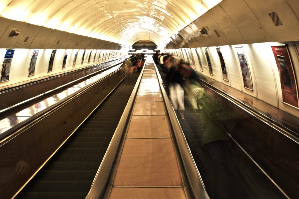 Escalator by John Smith