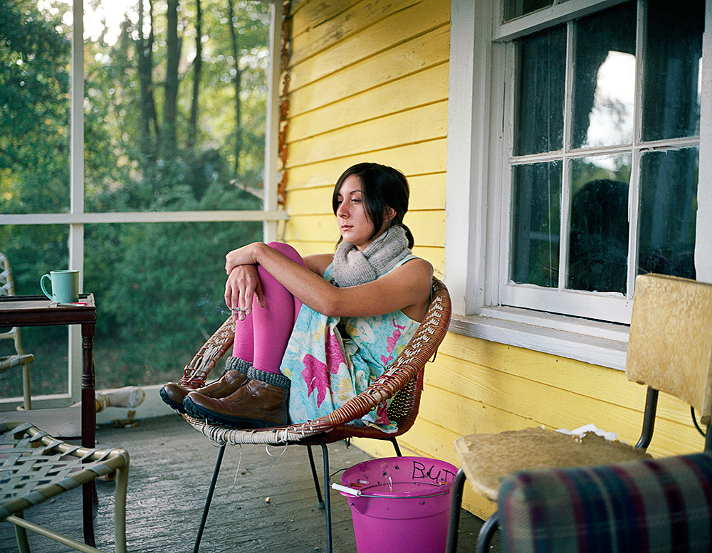 "Laura Noel, ""Mikki On Her Porch"""