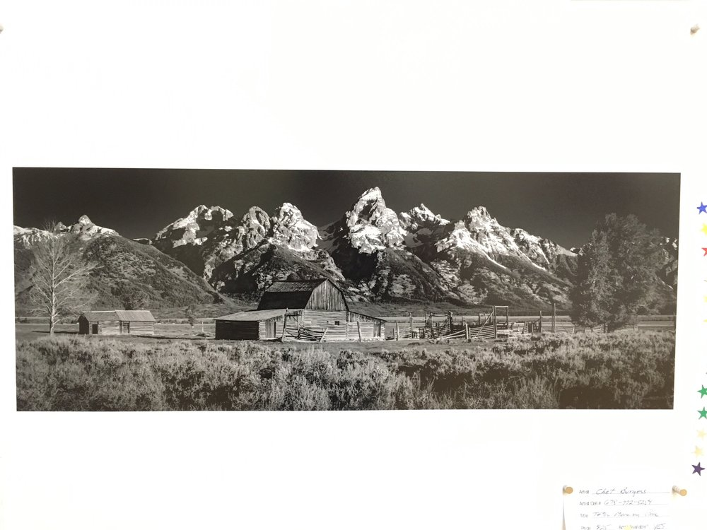 "Chet Burgess, ""Teton Morning"""