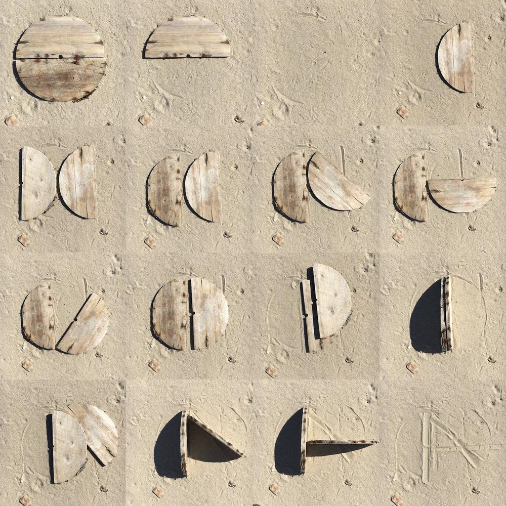 """Art Vandenberg, """"Sand Dials"""""""