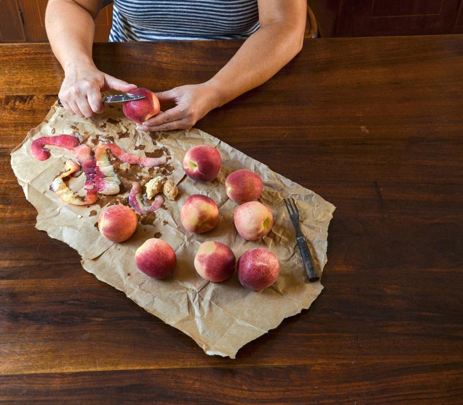 """""""Peeling Peaches"""""""