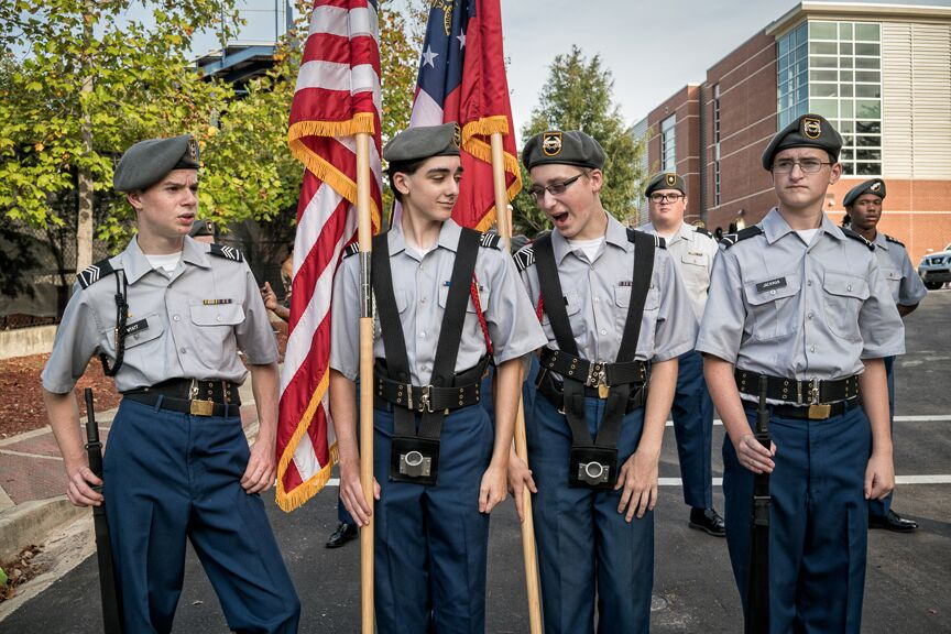 "Beate Sass, ""Decatur High ROTC"""