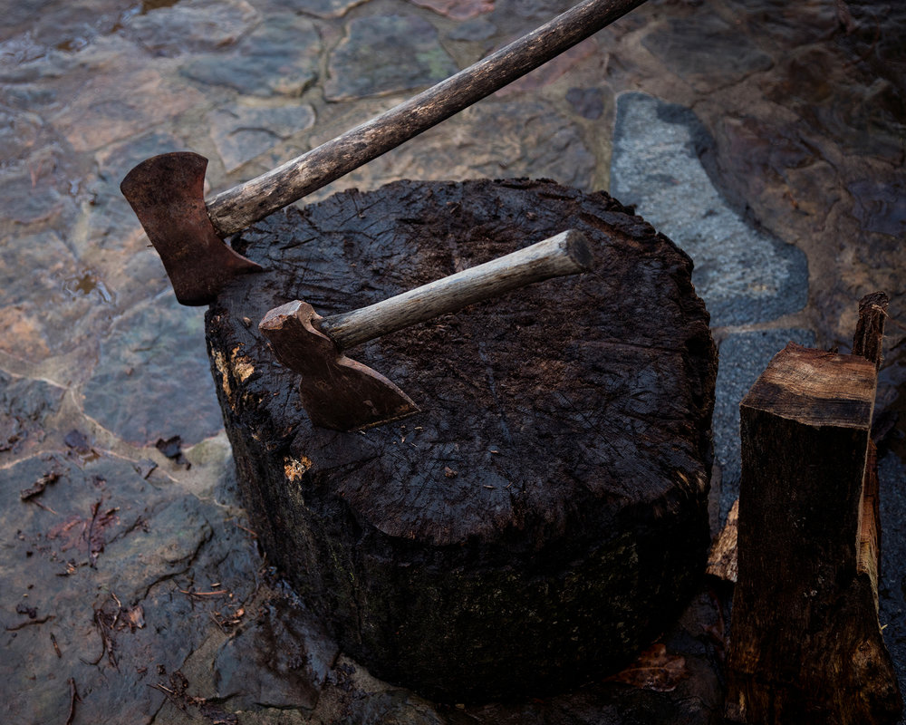 """Untitled - Chopping Block, Rabun, GA"""