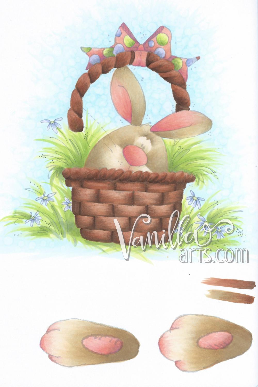Bunny Basket Project half finished