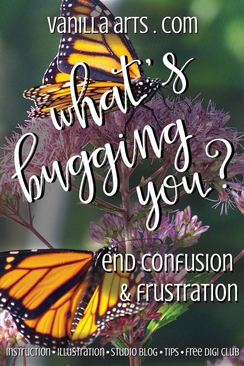 End confusion & frustration | VanillaArts.com