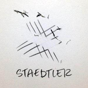 Staedtler Plastic Grand Eraser | VanillaArts.com