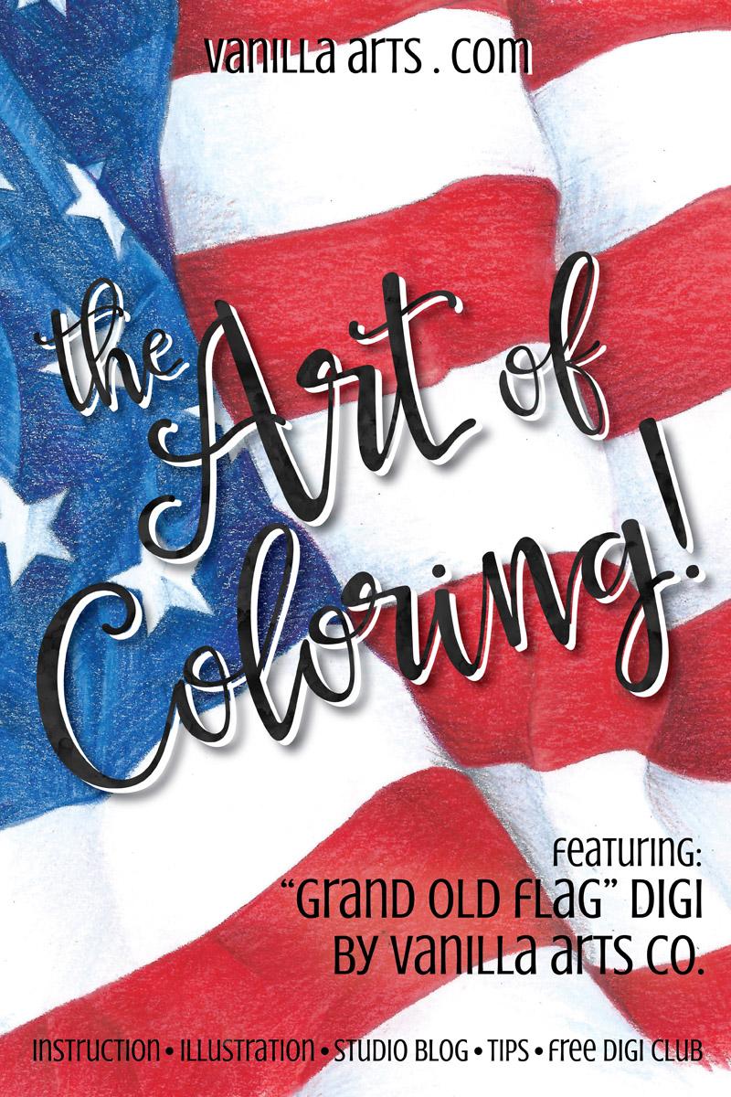 Art of Coloring, Prismacolor Class | VanillaArts.com