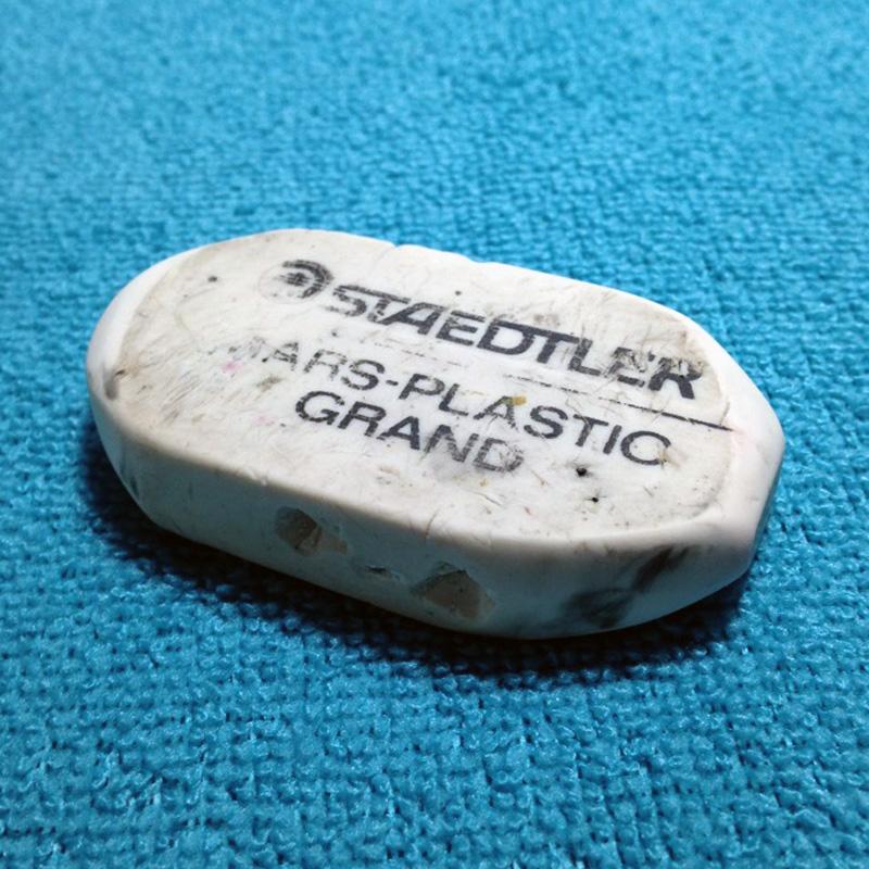 Old Soldier, Plastic Eraser | VanillaArts.com