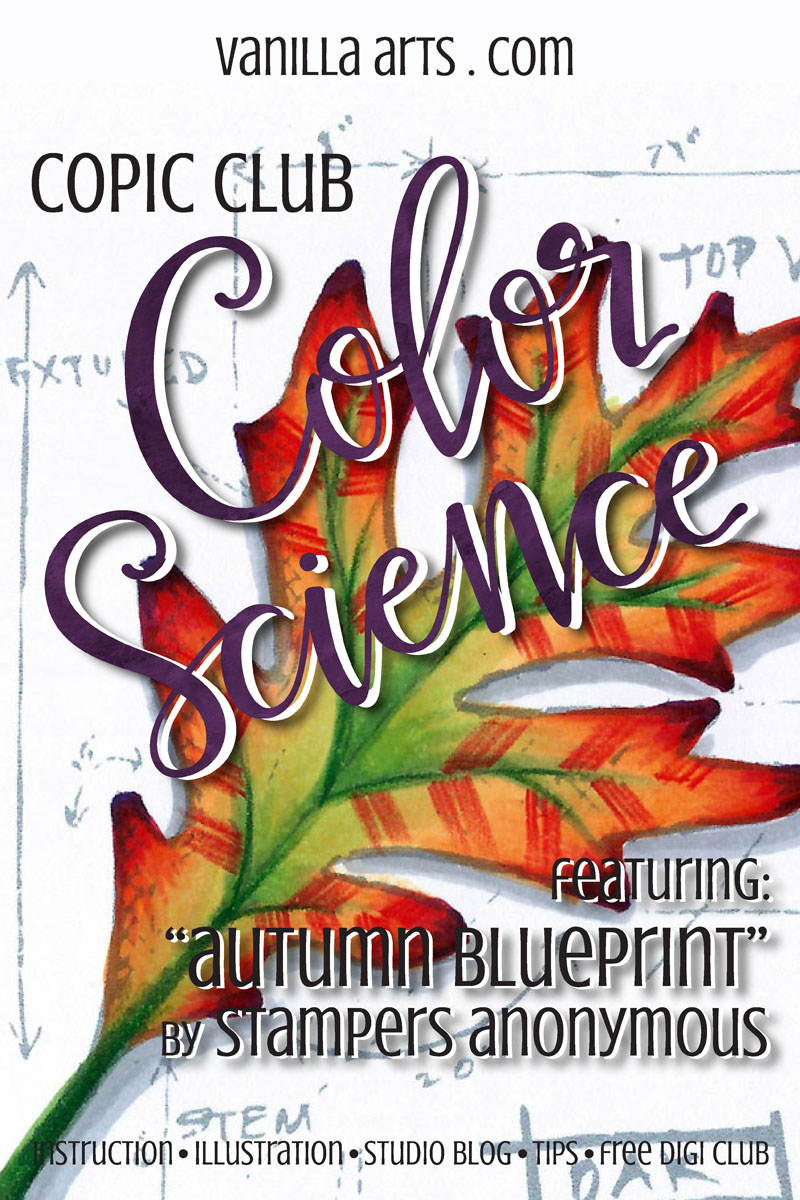 Copic Club: Color Science- exploring complex blending groups | VanillaArts.com