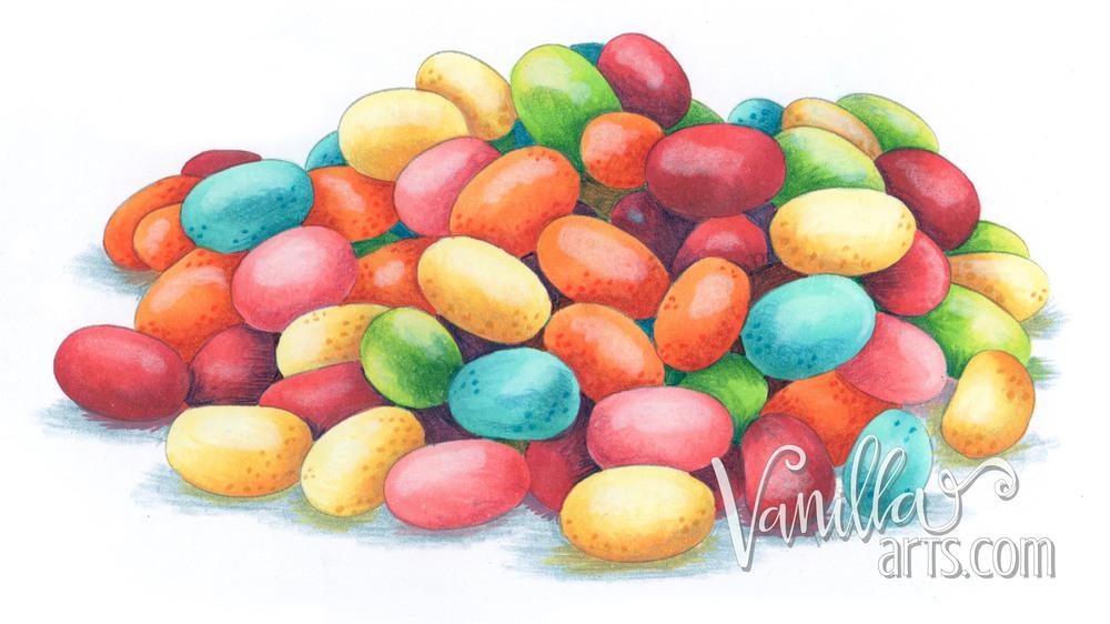 Jellybeans by VanillaArts.com
