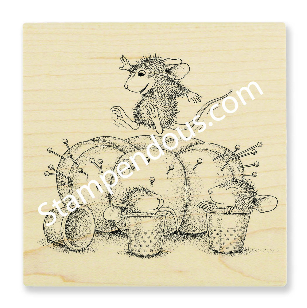 "Stampendous House Mouse ""Pincushion"" 