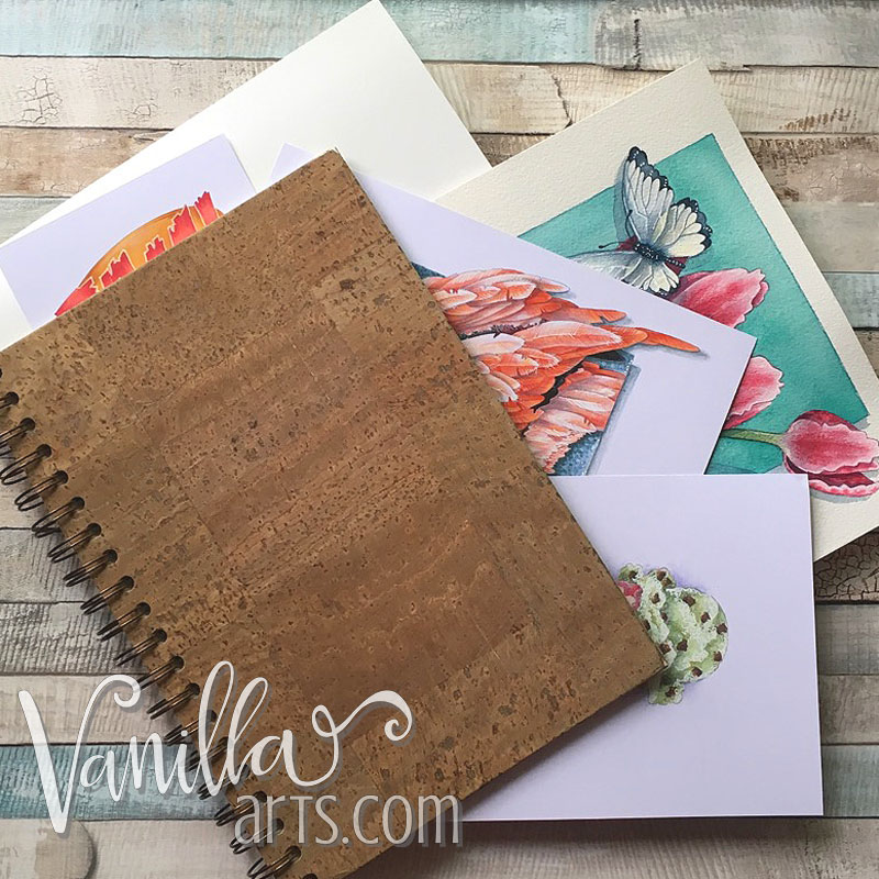 Do you shove your projects into a sketchbook? Boy, do we need to talk! | VanillaArts.com