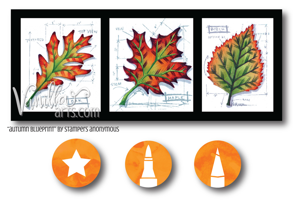 """Autumn Blueprint"" by Stamper's Anonymous"