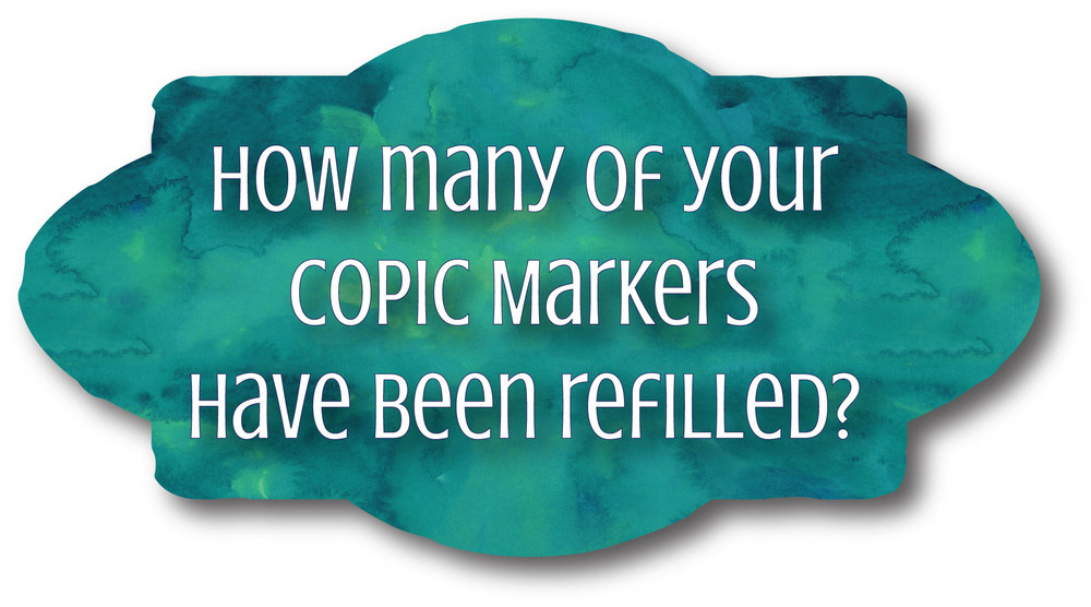 Have you ever refilled your Copics? | VanillaArts.com