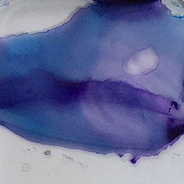 Violet mixture of DS Carbazole Violet and Winsor Newton Cerulean Blue (not recommended)