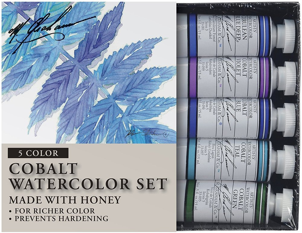 10 Gift Ideas for a Watercolor Lover- Sets help your watercolorist explore a range of related colors. | VanillaArts.com