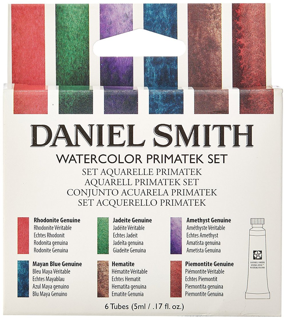 10 Gift Ideas for a Watercolor Lover- A set of related colors help a watercolorist explore paint characteristics. | VanillaArts.com