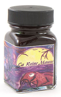 10 Gift Ideas for a Watercolor Lover- Noodler's La Reine Mauve is a beautiful ink to sketch for botanical watercolors.   | VanillaArts.com