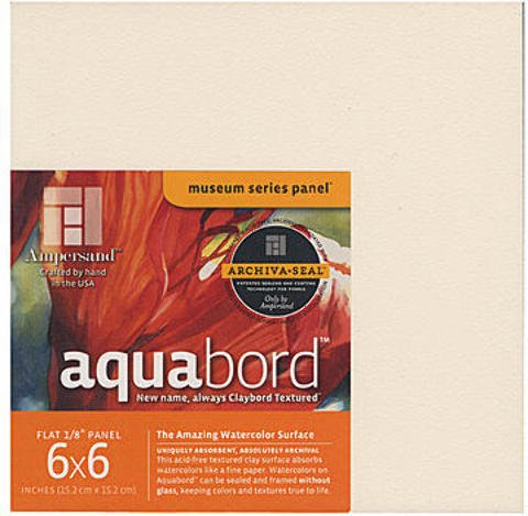 10 Gift Ideas for a Watercolor Lover- Aquabord provides a great alternative surface for watercolor projects. | VanillaArts.com