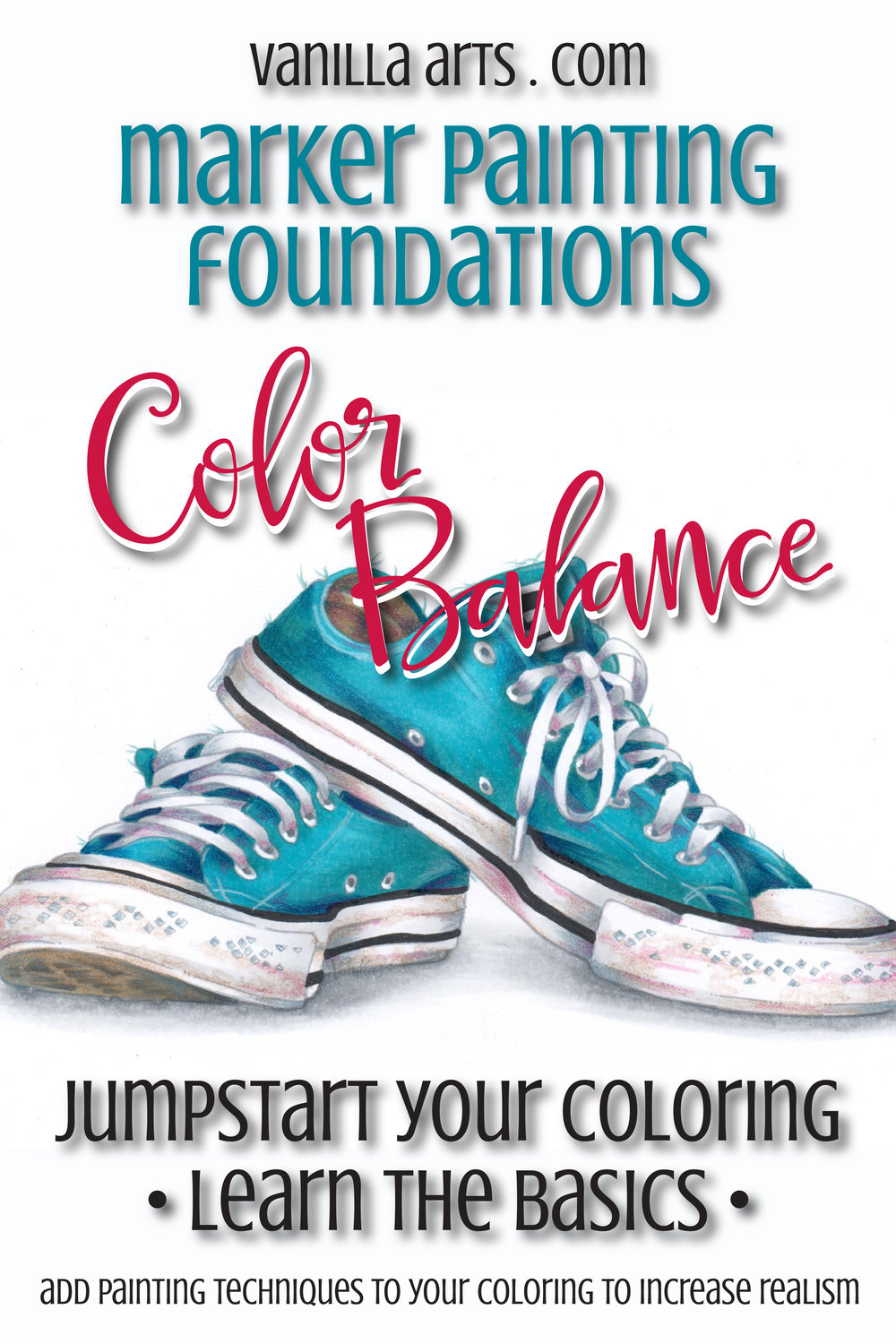 Improve your Copic Coloring by learning to balance the colors you choose. | VanillaArts.com