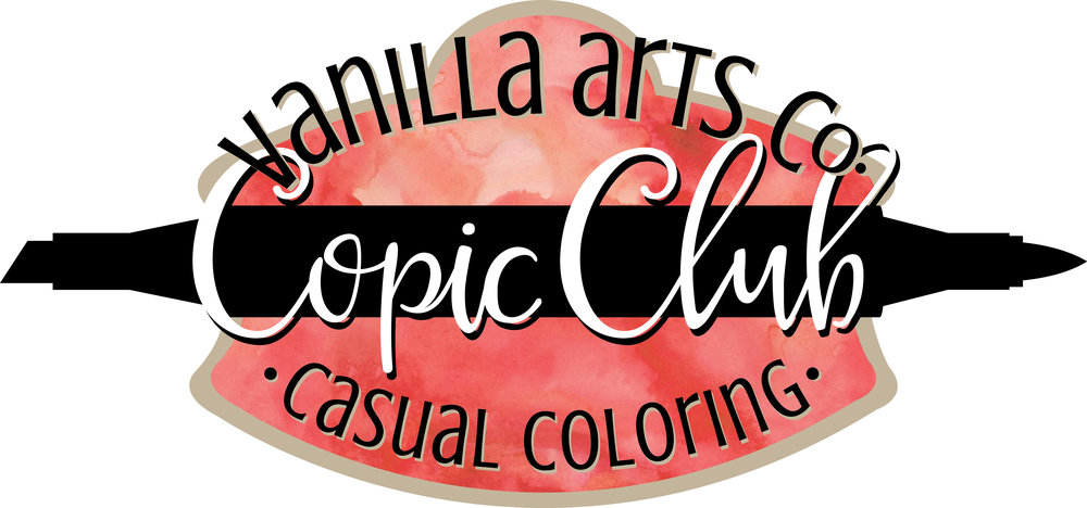 Monthly Copic Club. Beginner level and casual coloring. | VanillaArts.com