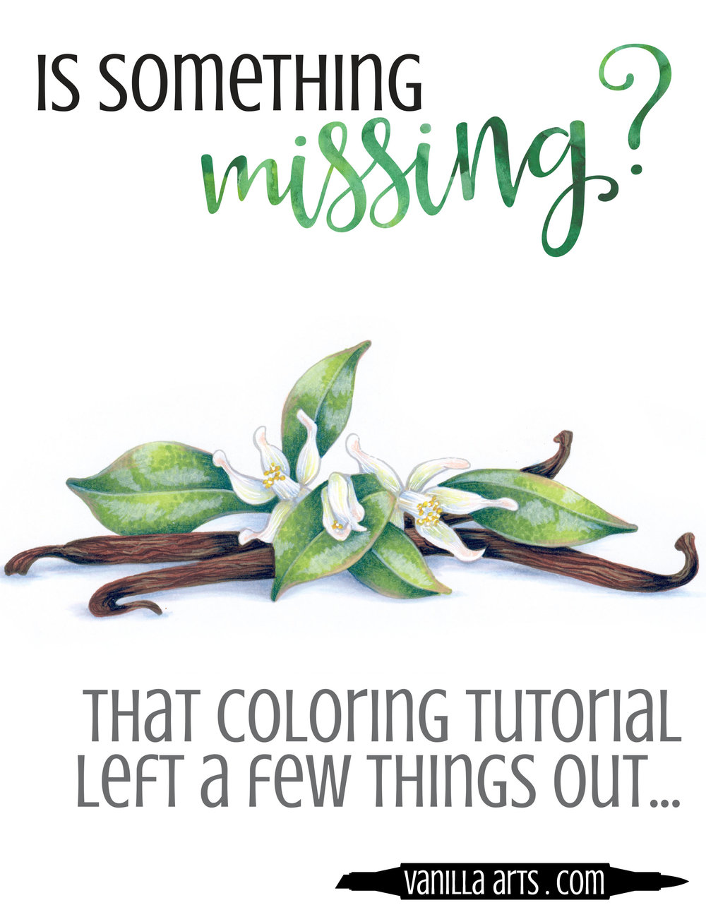 The secret to amazing coloring isn't what you think it is. Improve your Copic or colored pencil coloring with this one secret. | VanillaArts.com