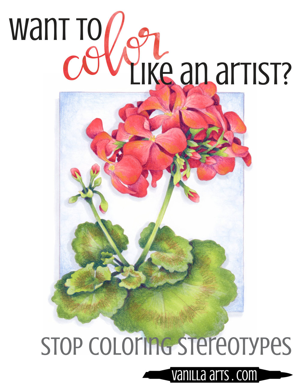 Want to add artistry and creativity to your Copic Marker or colored pencil coloring projects? Stop listening to your brain and start trusting your color sense. Read more about why your brain lies... | VanillaArts.com