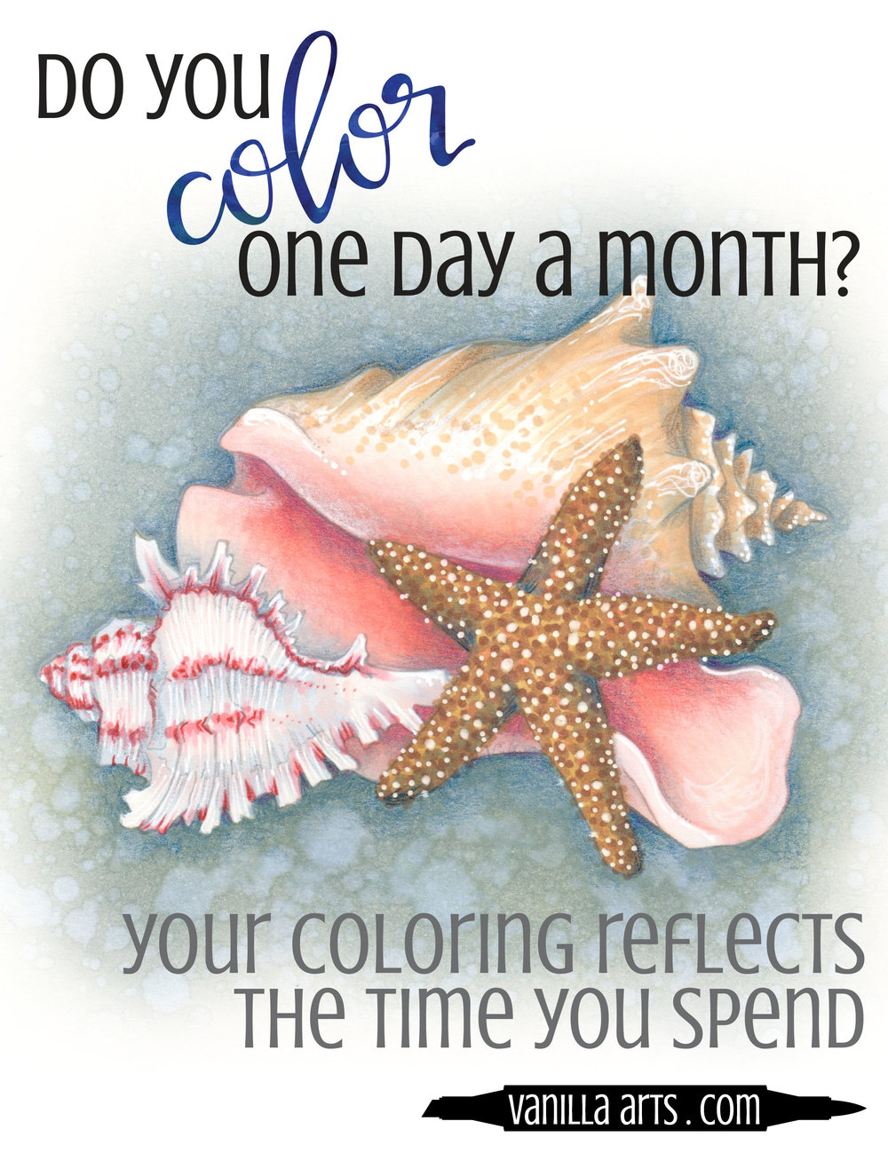 There is a natural ebb and flow to Copic Marker skills. Are you too harsh on yourself given the time you have available? | VanillaArts.com