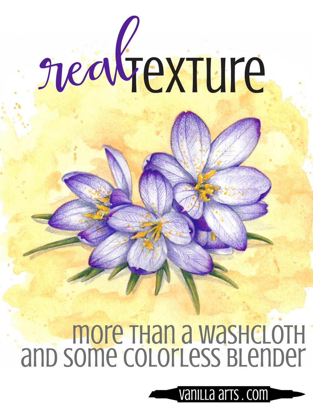 There's more to realism than choosing the best colors. Learn why texture is vital for adding realism to your coloring projects. | VanillaArts.com