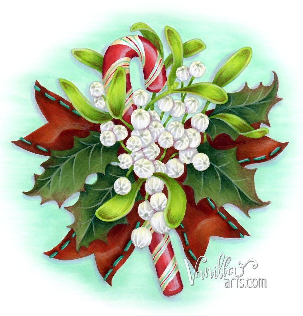"""Merriest Berries"" , an introduction to simplification of images using intermediate Push & Pull techniques. 