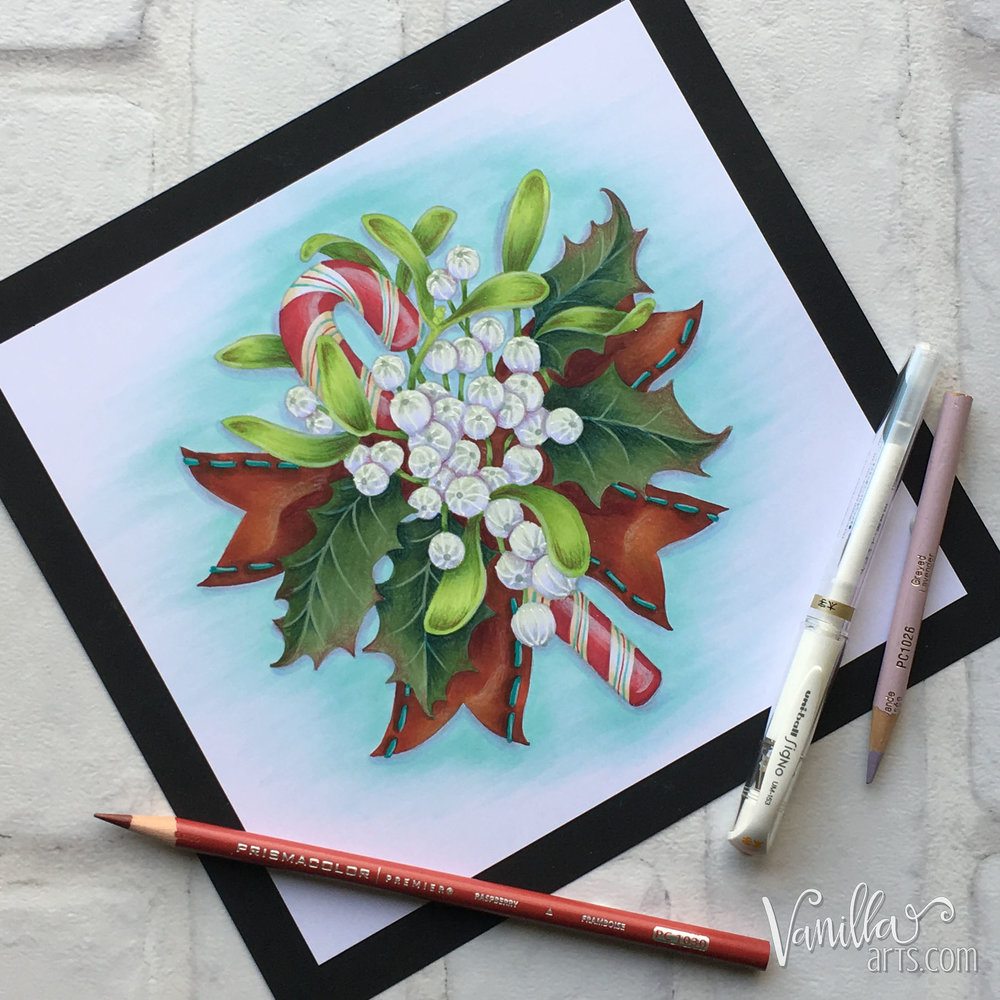 """Merriest Berries"", an introduction to simplification of images using intermediate Push & Pull techniques. 