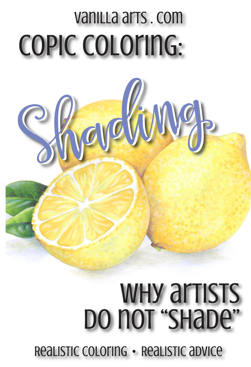Copic Coloring: Why Artists Do Not Shade (Part 1)