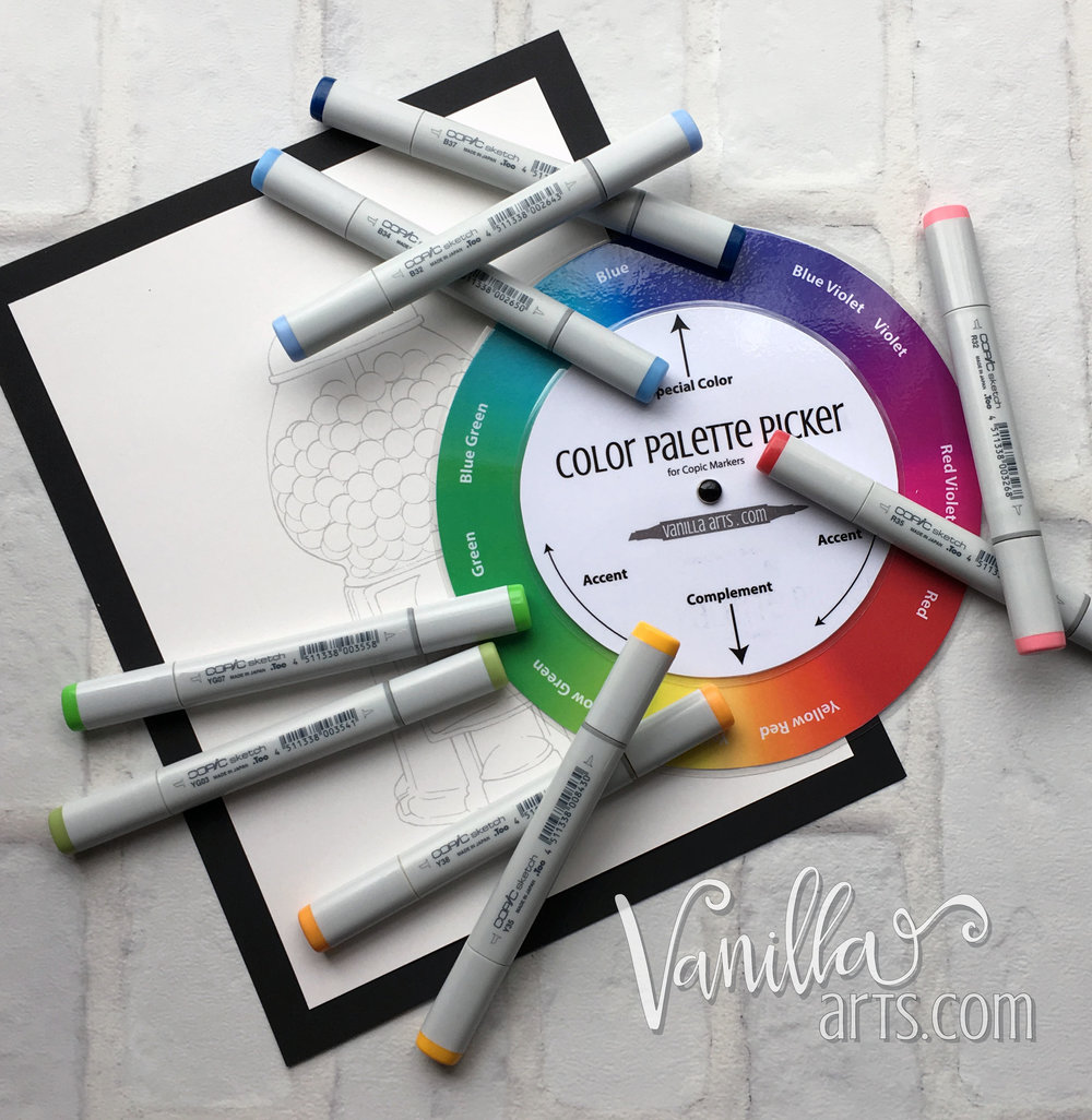 Challenge level coloring projects from Vanilla Arts Company. Learn to color with greater realism! | VanillaArts.com