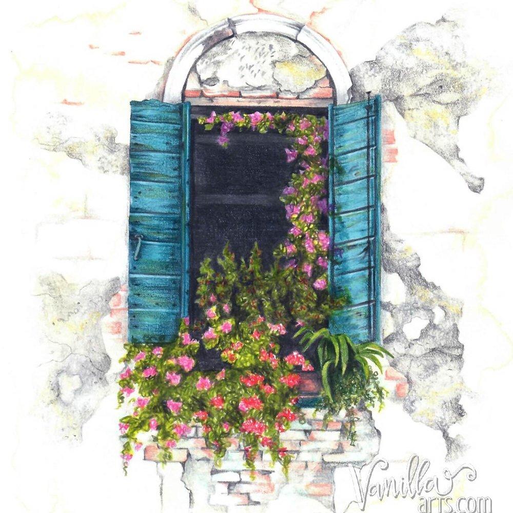 """Window Box"" by VanillaArts.com"