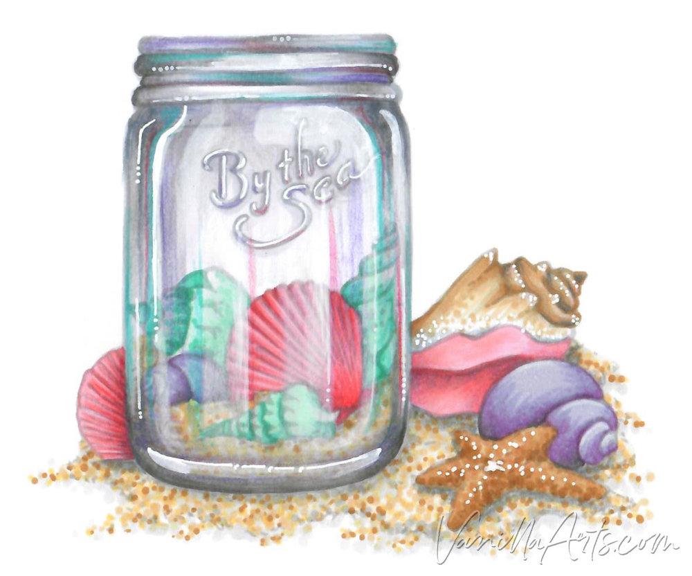 Seashell Jar FC h2o.jpg