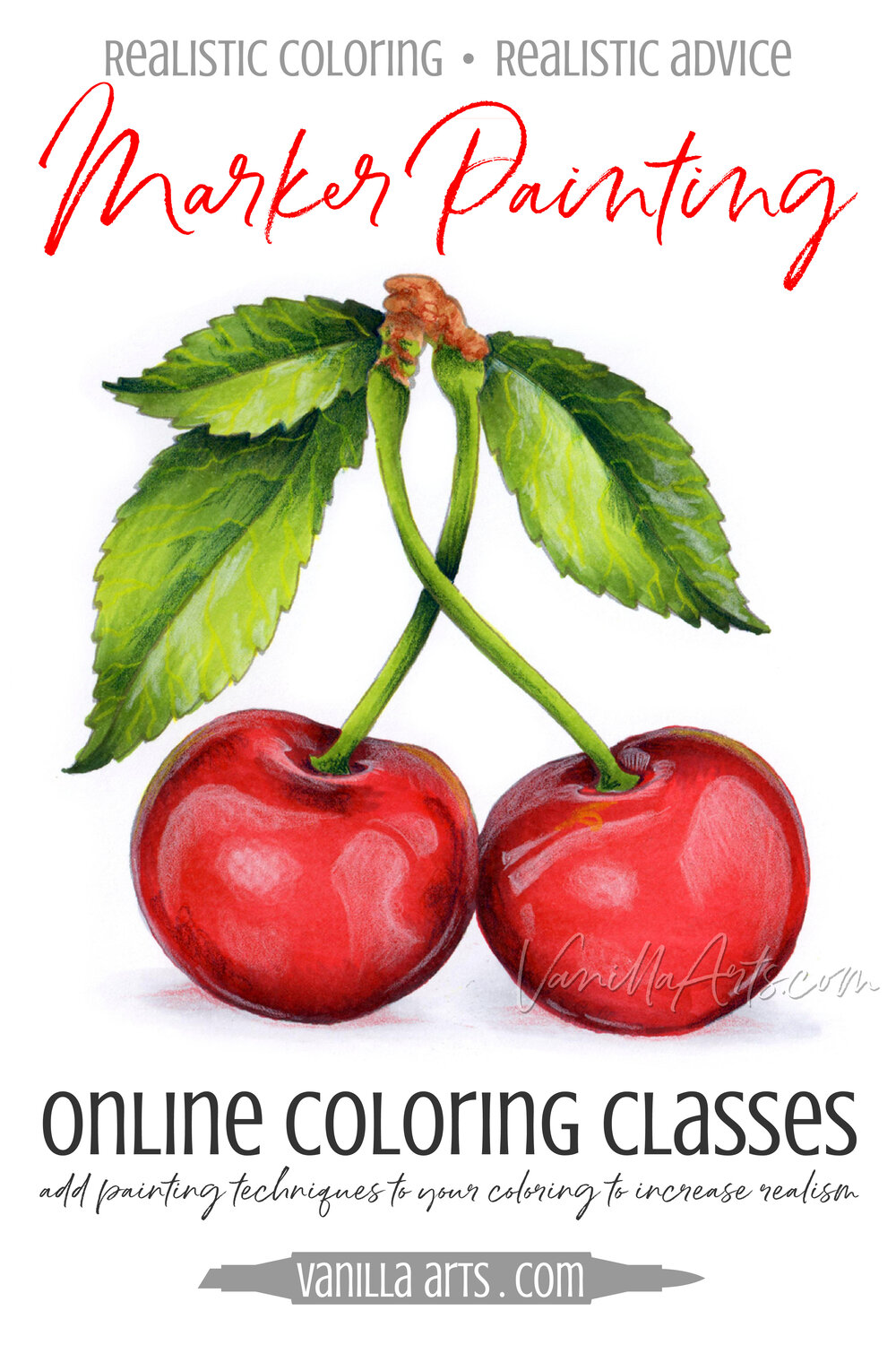 GRAND OPENING! Marker Painting Workshops now open, challenge level ...