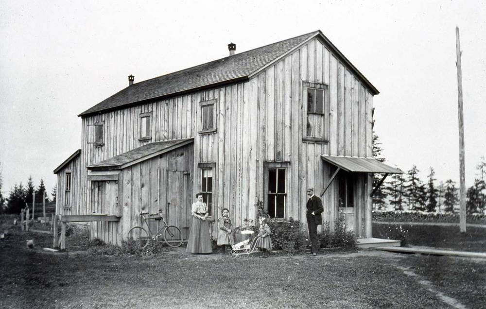 Original Kiehl residence before Ft. Lawton buildings