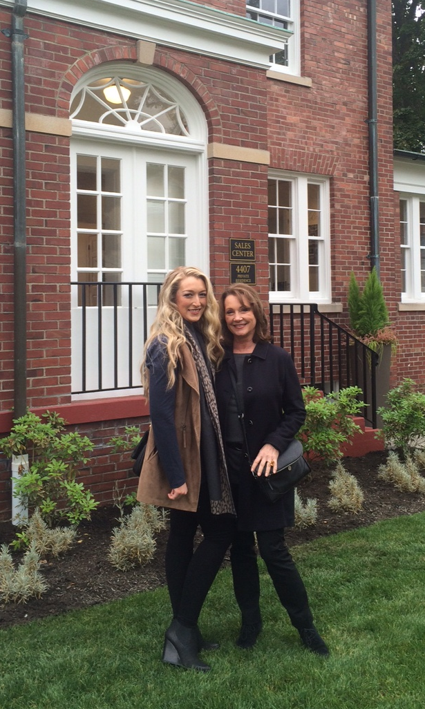 Mary Norris (Right) and Paige Norris Fujii (Left), Brokers with Realogics Sotheby's International Realty, attend a private event and preview of The Homes at Fort Lawton