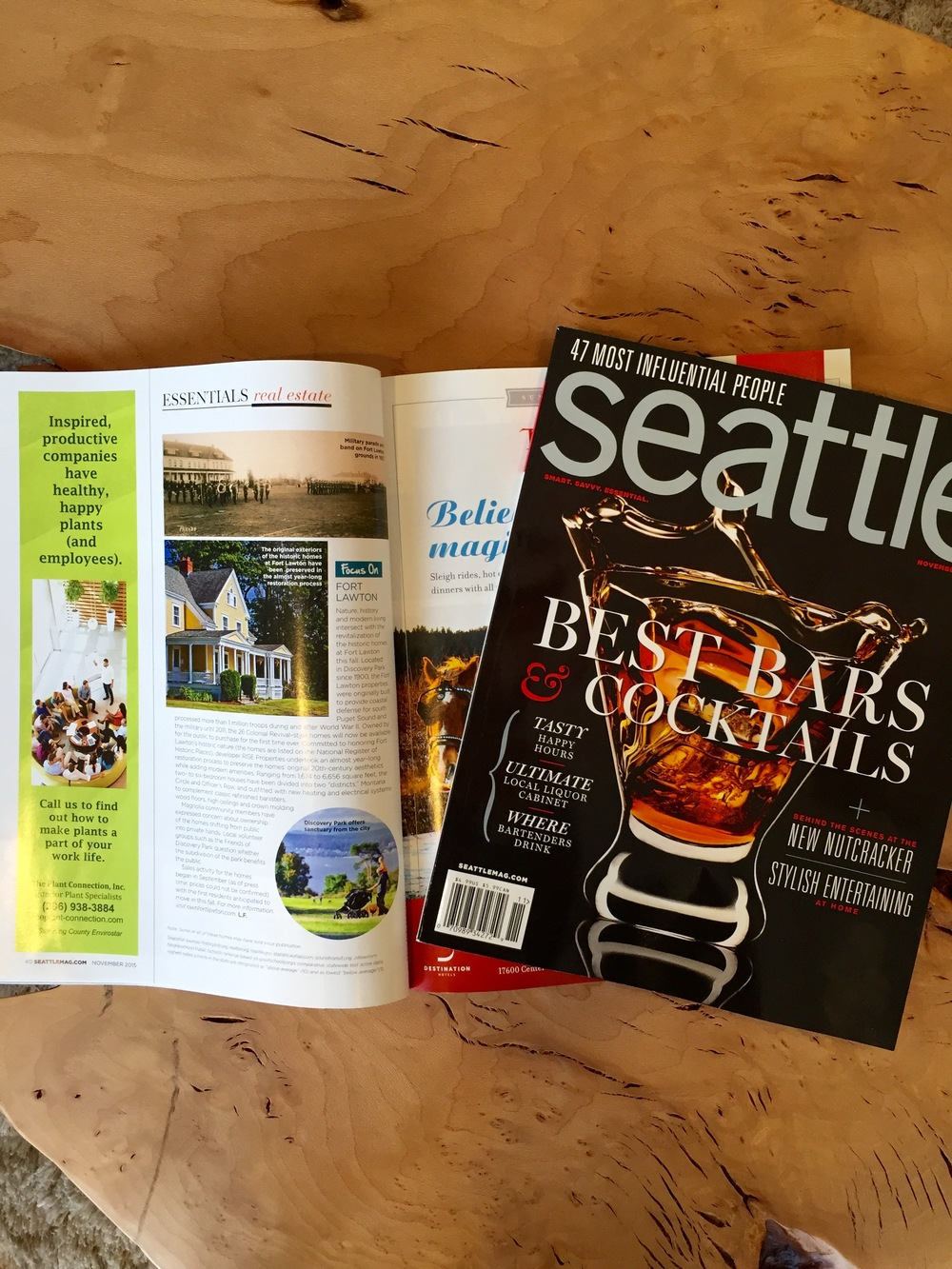 The story as it appears in the upcoming November 2015 issue of Seattle Magazine