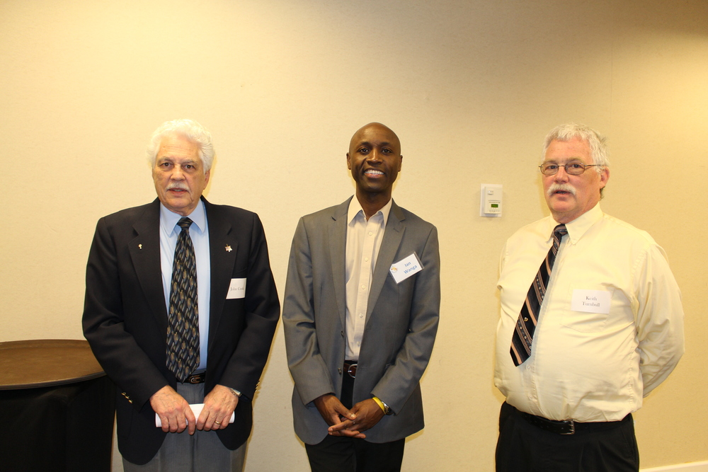 John Cooke, Board Member Ian Wanga, and Keith Turnbull