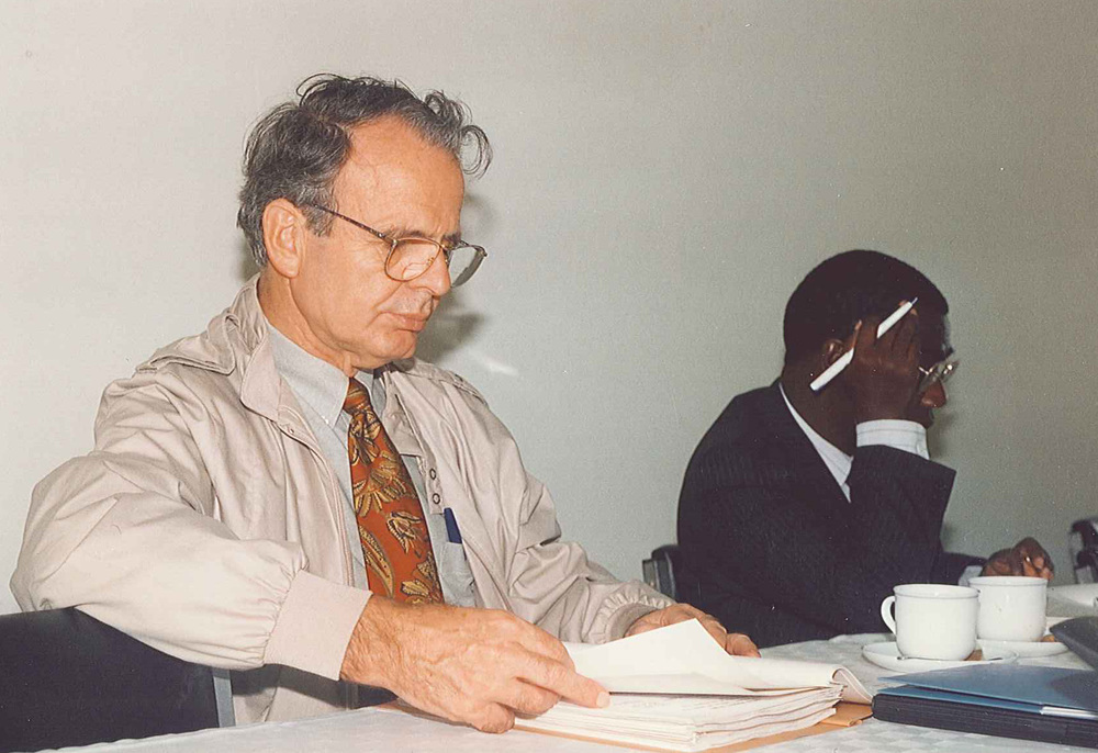 Daystar University Board Meeting, 1993