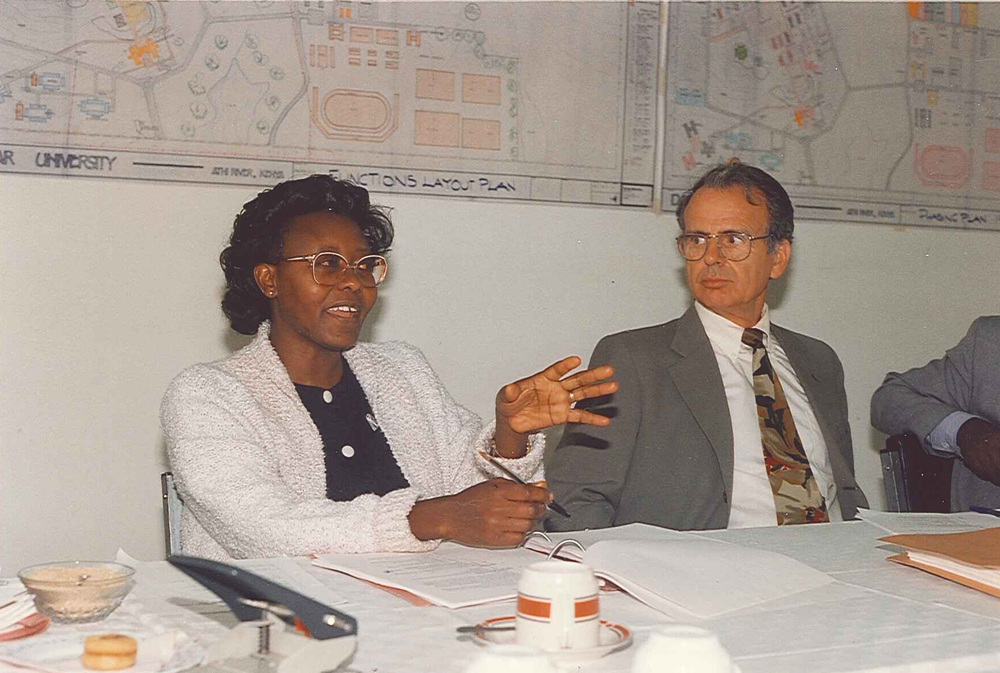 Daystar University Board Meeting 1993