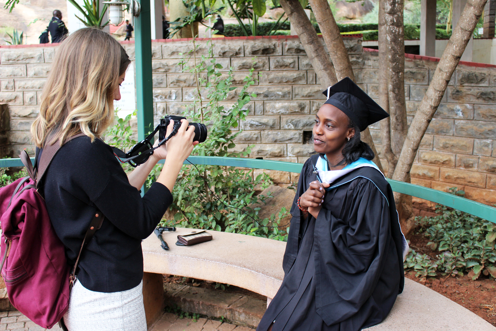 Katie, our Marketing Administrator, spent countless hours videoing and photographing students, graduates, and alumni. It was often overwhelming to hear all of the amazing stories they had to share.