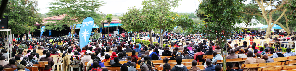 An estimated 10,000 people attended Daystar's 2016 graduation ceremony.