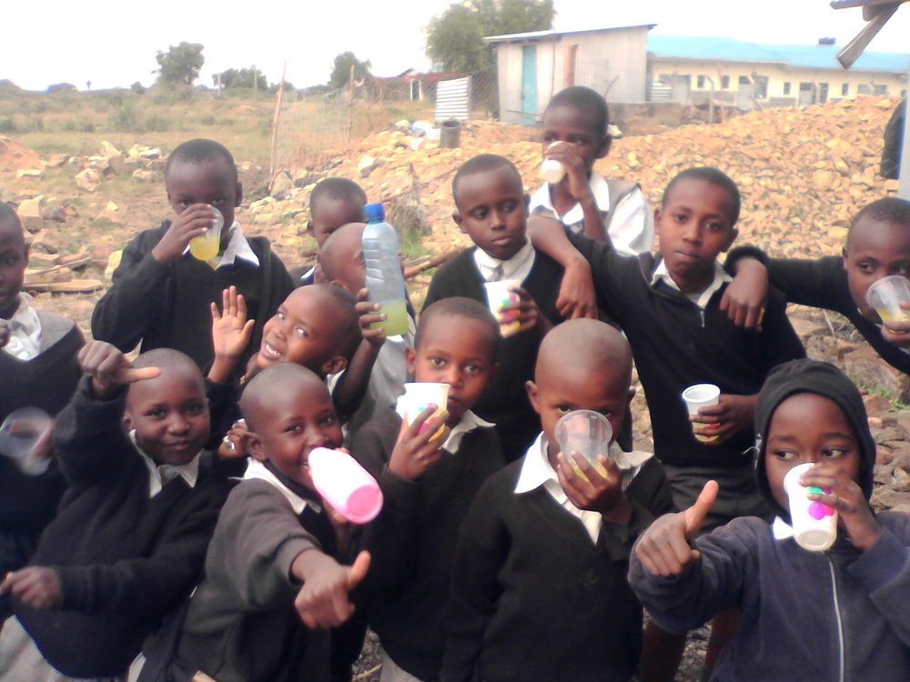Daystar students are having an impact on the community surround Daystar University's Athi River campus.