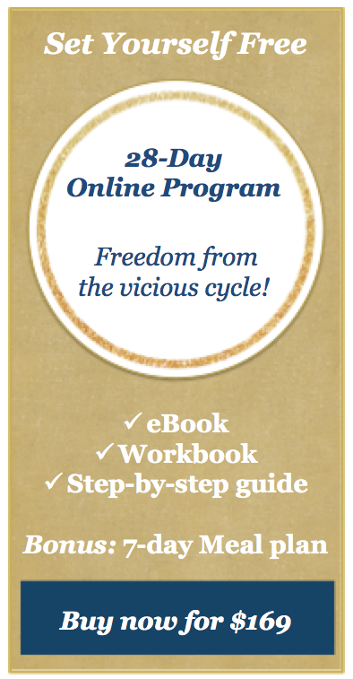 Puricious Set Yourself Free online program to lose weight
