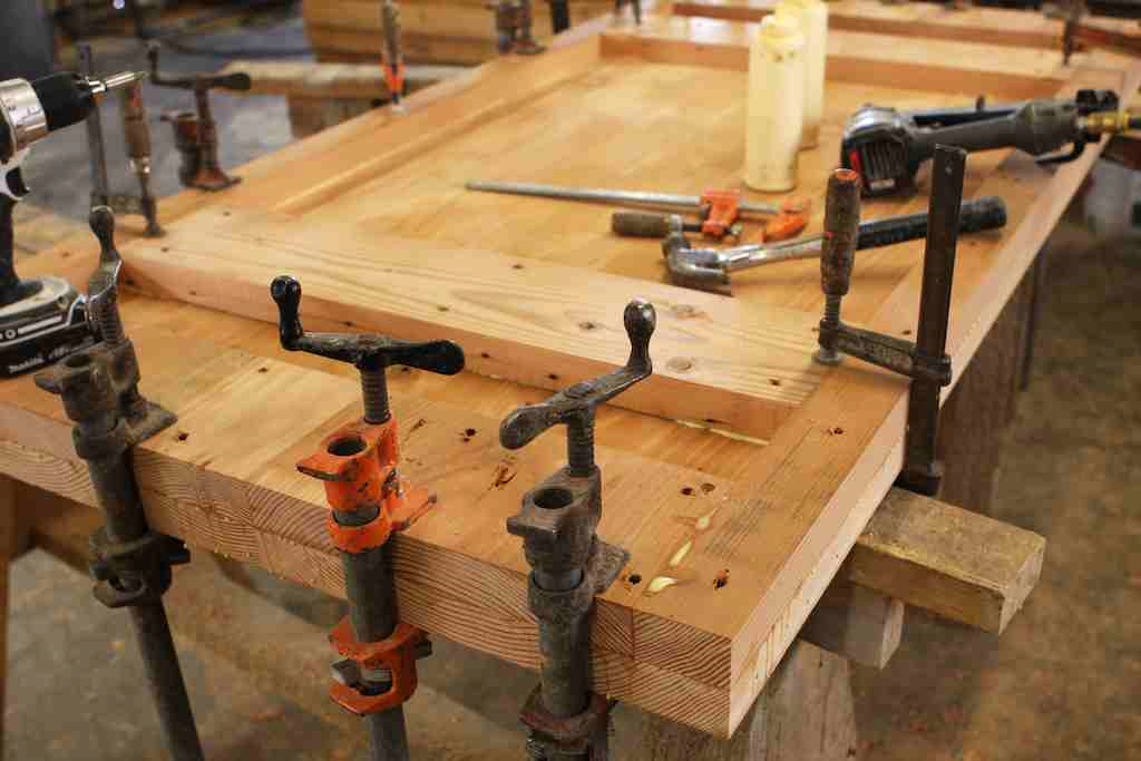 reclaimed wood table workjpg best wood for making furniture
