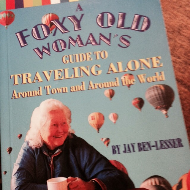 Came across this rad book while in Seattle, I gave it to another awesome female traveler...Connie Mettler.