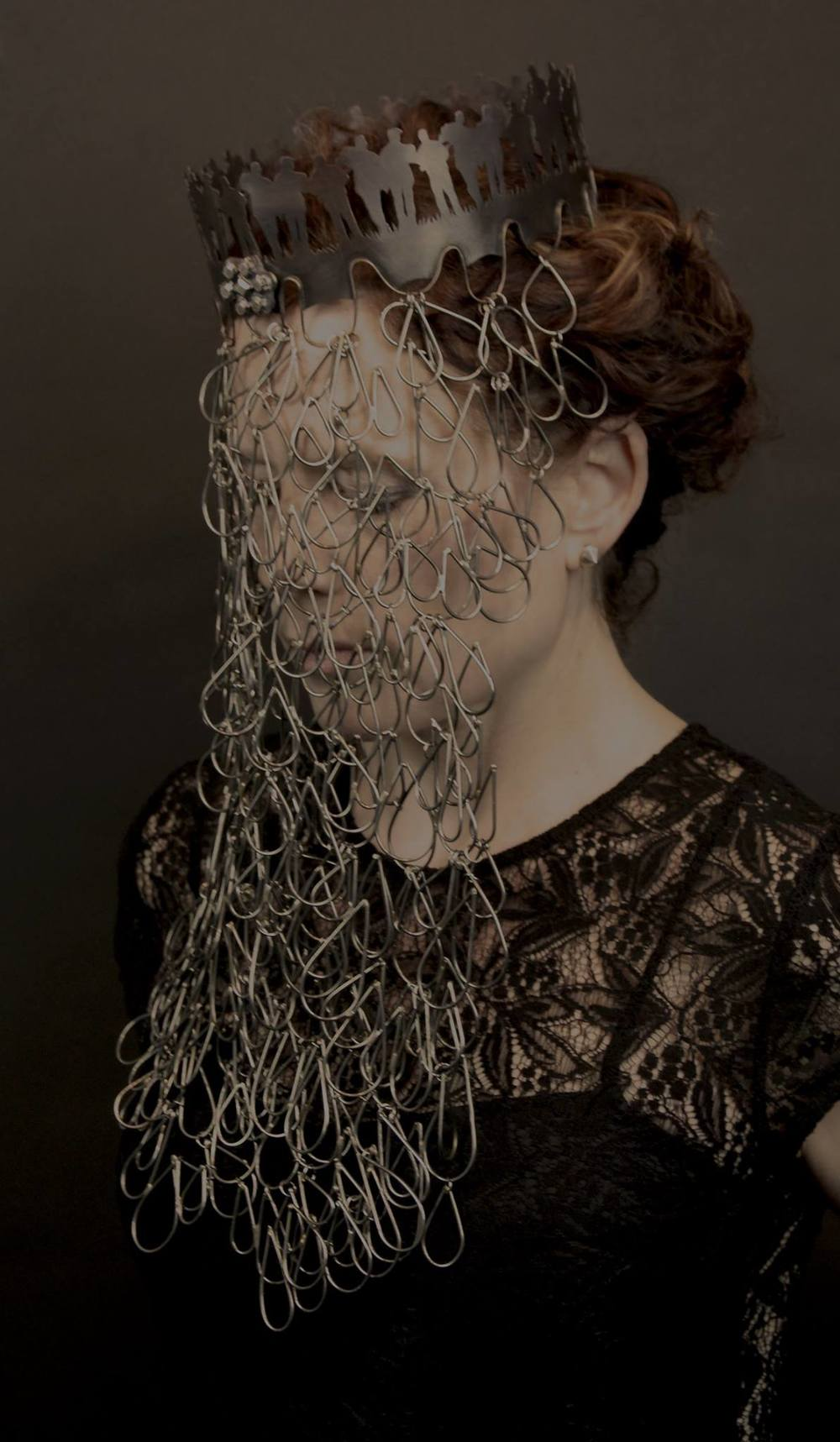 Veil #1 from Objects of Mourning by   Renee Zettle-Sterling   photographed by   Bree Mullen
