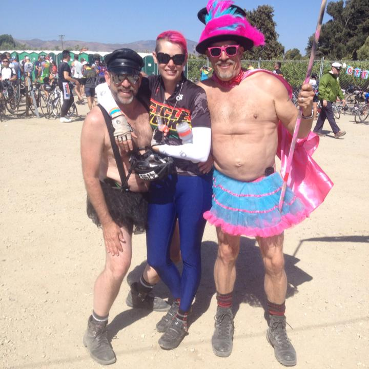 AIDS Lifecycle 2014 - Casey road 545 miles in 7 days and raised $3k for the 2014 AIDS Lifecycle. During the ride from San Fransisco to Los Angeles, Casey enjoyed the breathtaking California natural beauty of the coast. Along the way each pit stop was filled with motivating Drag Shows that helped to lift riders road beaten souls. The most memorable moment were the miles of endless strangers standing road side in support. They held signs of thank you along with pictures of their loved ones that either have lost or in the mist of this battle that affects us all. This epic event humbled Casey along with fueling her desire to push herself and help others.